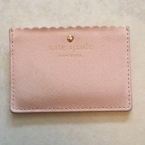 Kate Spade pink cardholder